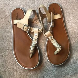 Shoes - Braided Thong Sandals